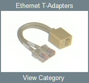 Ethernet T-Adapters