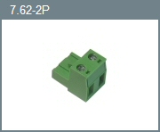 7.62mm 2-Position Pluggable Terminal Block