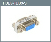 DB-9 F/F Mini Gender Changer