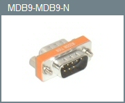 DB-9 M/M Mini Null Modem Adapter