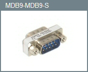 DB-9 M/M Mini Gender Changer